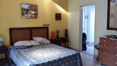 Photo for 1-BD guest-friendly apartment in central Sosua, with TV and Internet