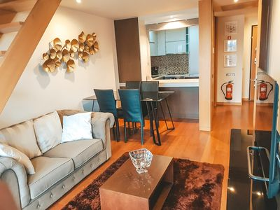 Photo for Modern and conveniently located duplex apartment near the Porto