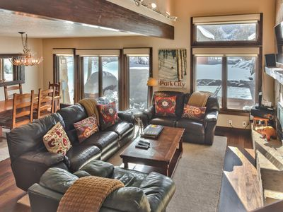 Photo for CDC Approved Cleaning! Multi Family Mountain Utopia. Deer Valley + Private Hot tub