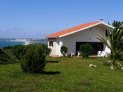 Photo for Large villa directly on the Atlantic, spectacular sea view, palm garden, near the beach