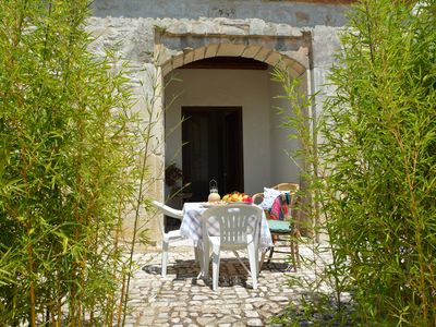 Photo for Accommodation in a period villa. Large garden, swimming pool, free wi-fi, organic vegetable garden