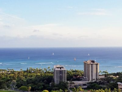 Photo for Spacious and Newly Renovated Waikiki Condo With Full Kitchen and Ocean Views