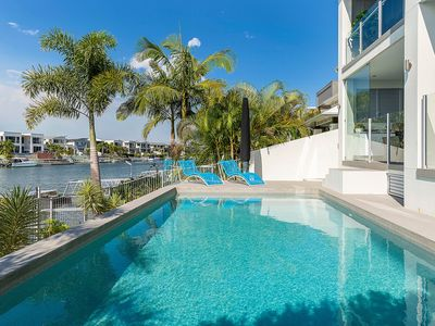 Photo for GOLD COAST HOLIDAY HOUSES - WATERFRONT WONDER