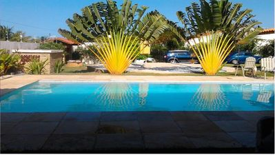 Photo for We rent beautiful house with pool, near the beach in Beberibe- EC