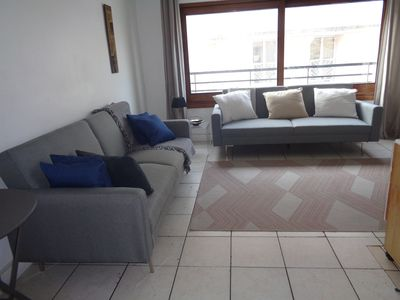 Photo for Large bright 2 rooms, well equipped, quiet, in the city center, with balcony