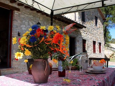 Photo for 2BR Cottage Vacation Rental in Castellina in Chianti, Tuscany