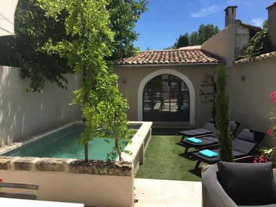 Photo for For rent Village house with pool 5 minutes from Saint-Rémy-de-Provence