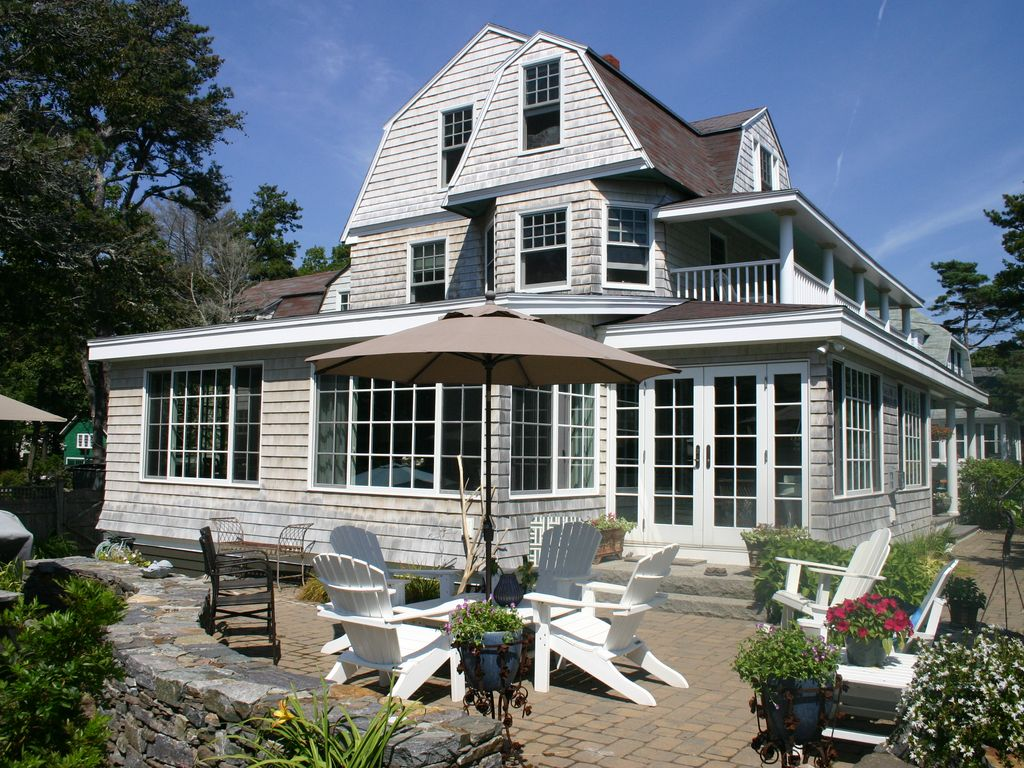 Old Maine Victorian Ocean Beach House Loade Homeaway
