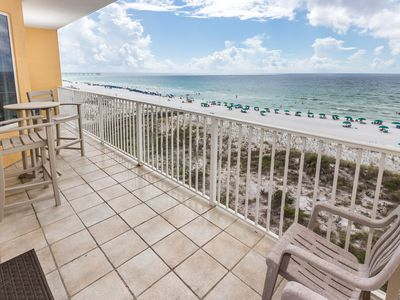 """Photo for """"Gulf Dunes Unit 510"""" Custom Design- Bask in this 5th floor direct gulf front Beauty!!!!"""