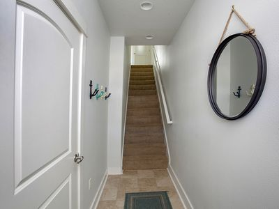 Entry Area - Photo of entry area. Stairs leading up to mid level of home.