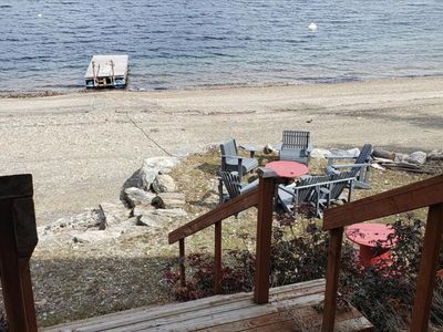 Photo for 200' Private Beach Lake Front 3,200 Sq. Ft. Home