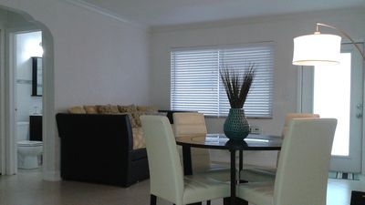 Photo for Delightful 1 Bedroom Remodeled Apt Just Steps from Beach Free Wifi/Cable TV