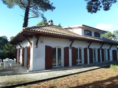 Photo for LARGE VILLA FOR 10 PEOPLE BISCARROSSE BEACH