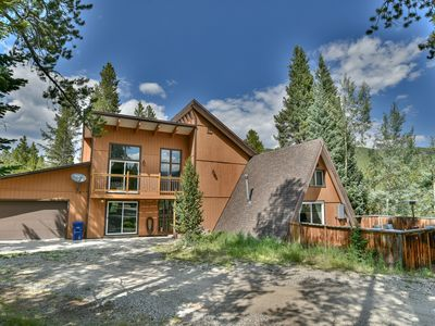 Photo for Brown on the Blue Home Hot Tub Blue River Colorado Vacation Rental