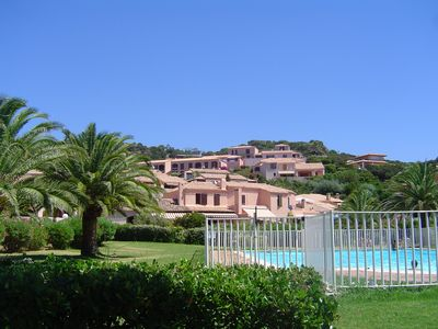 Photo for Apt panoramic sea view in residence: Pool, Tennis, WIFI, Air conditioning