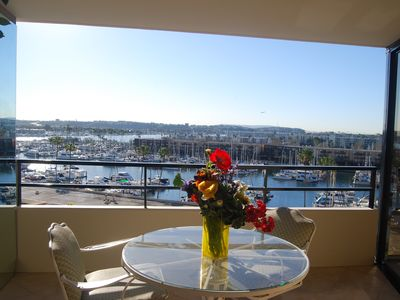 Photo for 1 bedroom 5* unit in a 5 star resort at the water in Marina Del Rey.