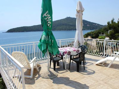Photo for Two bedroom apartment near beach Molunat, Dubrovnik (A-2137-b)