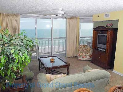 Photo for Crescent Shores Oceanfront Unit 704! Stunning Condo. Book your get away today!