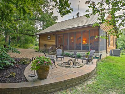 Photo for Makanda Cabin w/Deck in Shawnee National Forest!