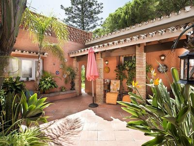 traditional patio andaluz