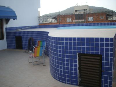 Photo for Coverage - Bay Guaruja -3 bedrooms-2 bathrooms and 1 suite - Swimming pool, barbecue grills