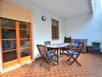 Photo for Apartment just 200 meters from the beach with large terrace
