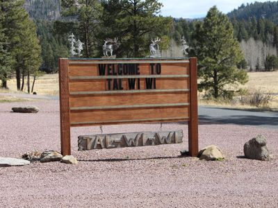 Photo for Located in beautiful Alpine, AZ at the historic Tal-wi-wi lodge is located just minutes away from the town center of Alpine where you will find several restaurants and small shops.  Often Deer, elk, and turkeys are seen passing through the property.