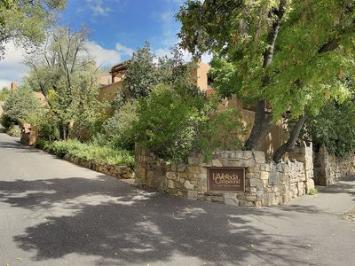 Photo for Spacious two bedroom, three bathroom townhome - 5 minute walk to Canyon Road