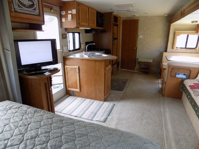 Photo for Dakota 29ft RV @EvansCliff  w/Hot Tub on Deck, Beautiful Canyon Overlook!