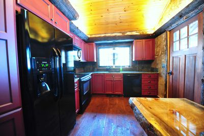 Completely remodeled kitchen in 2014! True Adirondack style with Rustic accents.