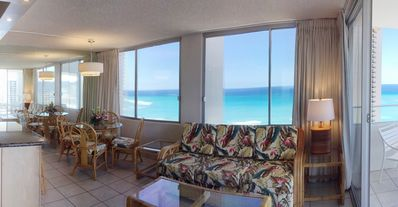 Photo for Pacific Monarch. 29th Floor with Full Ocean Views. 1 Bedroom. Great Deal!