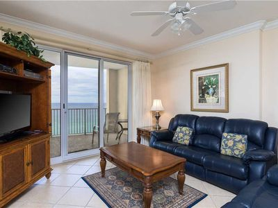 Photo for Comfy Beachfront Condo with Big Balcony