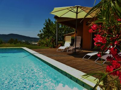 Photo for Hyères Superb Villa Terre de Sienne. Swimming pool, 5 minutes from the sea, ideally located