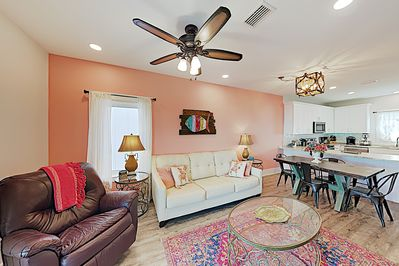 Living Area - Welcome to Gulf Shores! This townhouse is professionally managed by TurnKey Vacation Rentals.