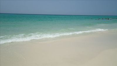 Welcome to Maravilla's Private White Sand Beach on the Gulf of Mexico!