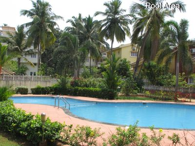 Photo for 2BR Apartment Vacation Rental in COLVA  SALCETE, GOA
