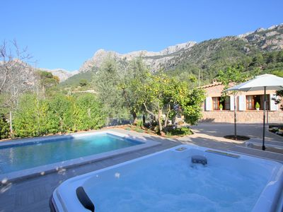 Photo for Dream villa in the heart of Sóller with pool and jacuzzi. WIFI FREE