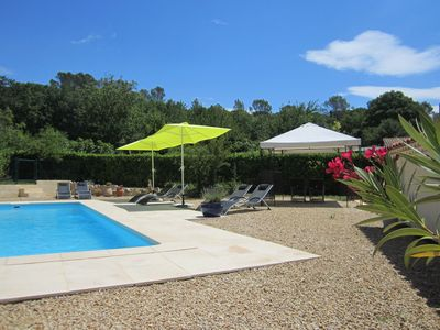 Photo for Fortunie -Provencalisches cottage, renovated, large pool, quiet, at the Vineyard