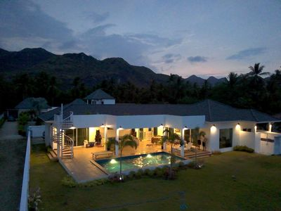 Photo for 5 bedroom villa engulfed by peaks and beaches in a non spoiled part of Thailand