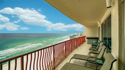 Photo for Hidden Dunes 14th floor unit with a fabulous view, open for the holidays!