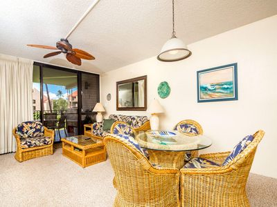 Photo for Casual Courtyard View Condo w/Kitchen Updates, WiFi, Washer/Dryer–Kamaole Sands 7203