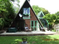 It was a very homely place with a garage to store our bikes and kayak and fishing gear.