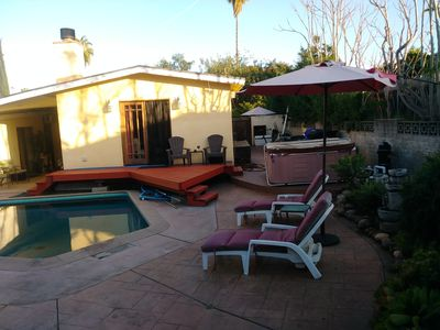 Photo for FURNISHED ROOM WITH PRIVATE ENTRANCE TO POOL & PATIO