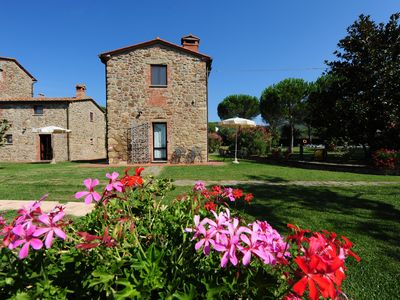 Photo for CHARMING FARMHOUSE near Tuoro sul Trasimeno with Pool & Wifi. **Up to $-2113 USD off - limited time** We respond 24/7