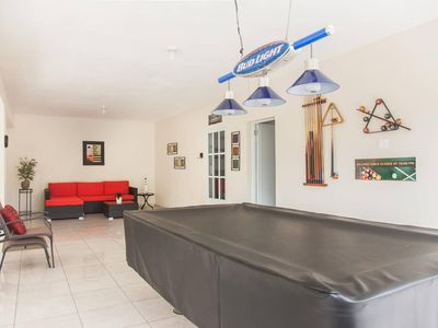 Photo for Studio w/pool table just 8 minutes from the beach