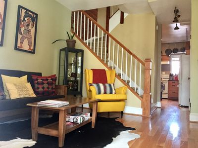 Photo for 2 BR up to 6 people Row-house, Capitalhill DC