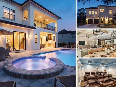 Photo for Mediterranean Villa With Amazing Movie Theater, Kids Rooms & Luxury Throughout