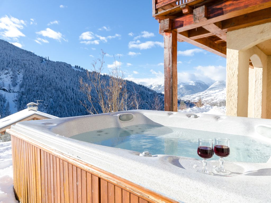 Chalet Nigritelle : Catered ski chalet with hot tub and sauna - 1 ...
