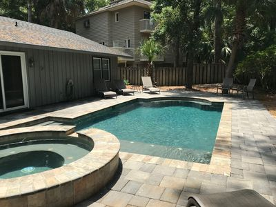 Photo for Great Location Close to Coligny, Private Pool + Hot Tub, Quiet Street
