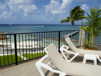 Photo for Cozumel Beach House Villa Debra Luxury Ocean Front Million Dollar View sleeps 14